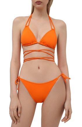 Женский треугольный бра NATAYAKIM оранжевого цвета, арт. NY-010T/21L | Фото 2