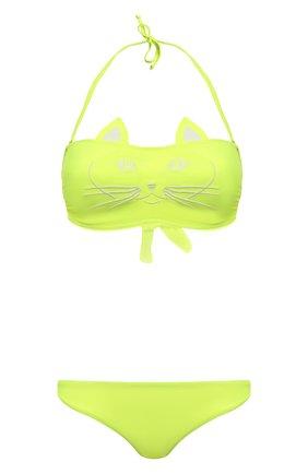 Женский раздельный купальник NATAYAKIM светло-зеленого цвета, арт. NY-020/19B | Фото 1