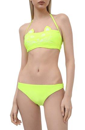 Женский раздельный купальник NATAYAKIM светло-зеленого цвета, арт. NY-020/19B | Фото 2