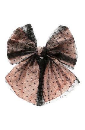 Женская резинка для волос REDVALENTINO светло-розового цвета, арт. WQ2J0C21/GNL   Фото 1 (Материал: Текстиль)