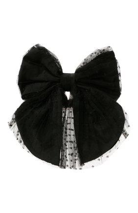 Женская резинка для волос REDVALENTINO черного цвета, арт. WQ2J0C21/GNL   Фото 1