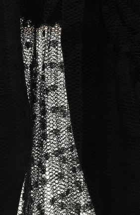 Женская резинка для волос REDVALENTINO черного цвета, арт. WQ2J0C21/GNL   Фото 2