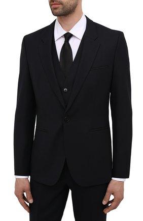 Мужской костюм-тройка HUGO темно-синего цвета, арт. 50454953 | Фото 2