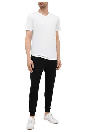 Мужская комплект из двух хлопковых футболок BOSS разноцветного цвета, арт. 50408203 | Фото 2