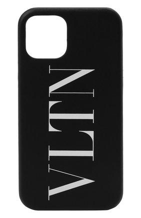 Чехол для iphone 12 pro VALENTINO черного цвета, арт. WY2P0T09/LVN | Фото 1