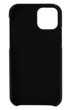 Чехол для iphone 12 pro VALENTINO черного цвета, арт. WY2P0T09/LVN | Фото 2
