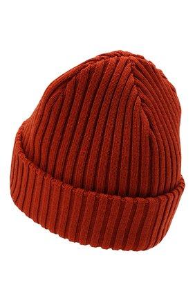 Мужская шерстяная шапка PAUL&SHARK оранжевого цвета, арт. C0P1051/FLV | Фото 2