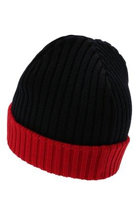 Мужская шерстяная шапка PAUL&SHARK бордового цвета, арт. C0P1054/FLV | Фото 2