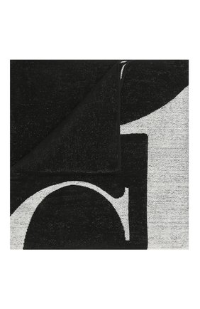 Мужские хлопковое полотенце CALVIN KLEIN черного цвета, арт. KU0KU00079   Фото 1 (Материал: Хлопок)