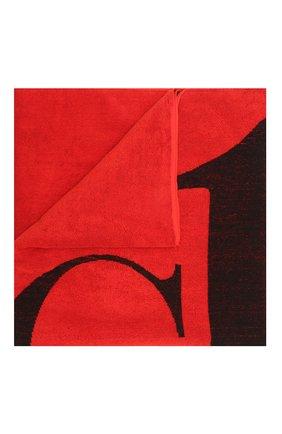 Мужские хлопковое полотенце CALVIN KLEIN красного цвета, арт. KU0KU00079   Фото 1 (Материал: Хлопок)