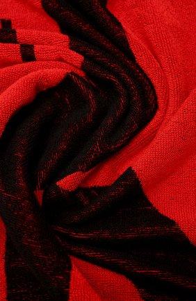 Мужские хлопковое полотенце CALVIN KLEIN красного цвета, арт. KU0KU00079   Фото 2 (Материал: Хлопок)