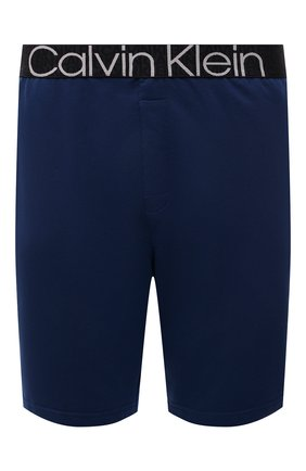 Мужские шорты CALVIN KLEIN синего цвета, арт. NM2127E | Фото 1