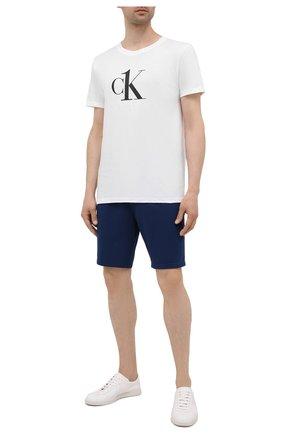 Мужские шорты CALVIN KLEIN синего цвета, арт. NM2127E | Фото 2
