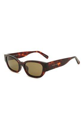 Женские солнцезащитные очки MAGDA BUTRYM коричневого цвета, арт. MAGDA4C5 SUN   Фото 1