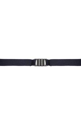 Детский галстук ALETTA темно-синего цвета, арт. AA210983-63 | Фото 2 (Материал: Текстиль, Синтетический материал)