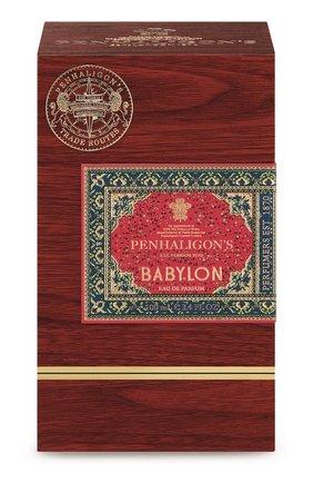 Парфюмерная вода babylon PENHALIGON'S бесцветного цвета, арт. 5056245011603 | Фото 2 (Ограничения доставки: flammable)