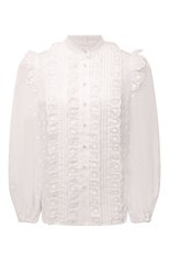 Женская блузка ZIMMERMANN белого цвета, арт. 1699TMAE   Фото 1