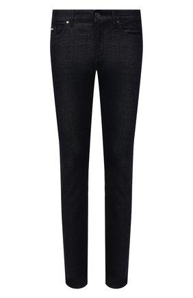 Мужские джинсы BOSS темно-синего цвета, арт. 50453147 | Фото 1