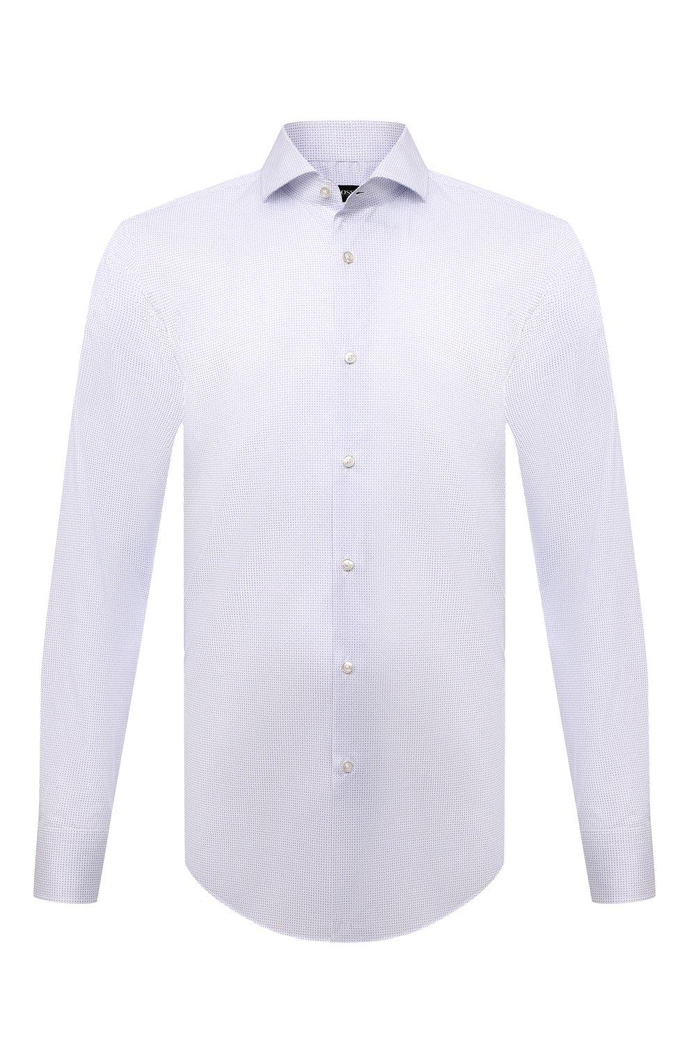 Мужская сорочка BOSS голубого цвета, арт. 50451166   Фото 1