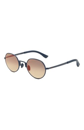 Мужские солнцезащитные очки KITON синего цвета, арт. U0C00203/000 | Фото 1