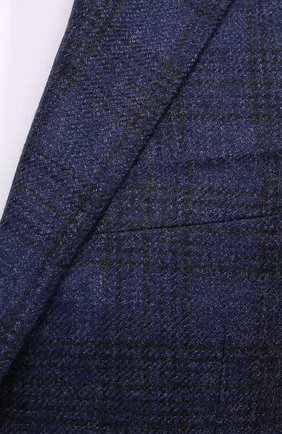 Мужской шерстяной пиджак CANALI синего цвета, арт. 23275/CF02798/111   Фото 5