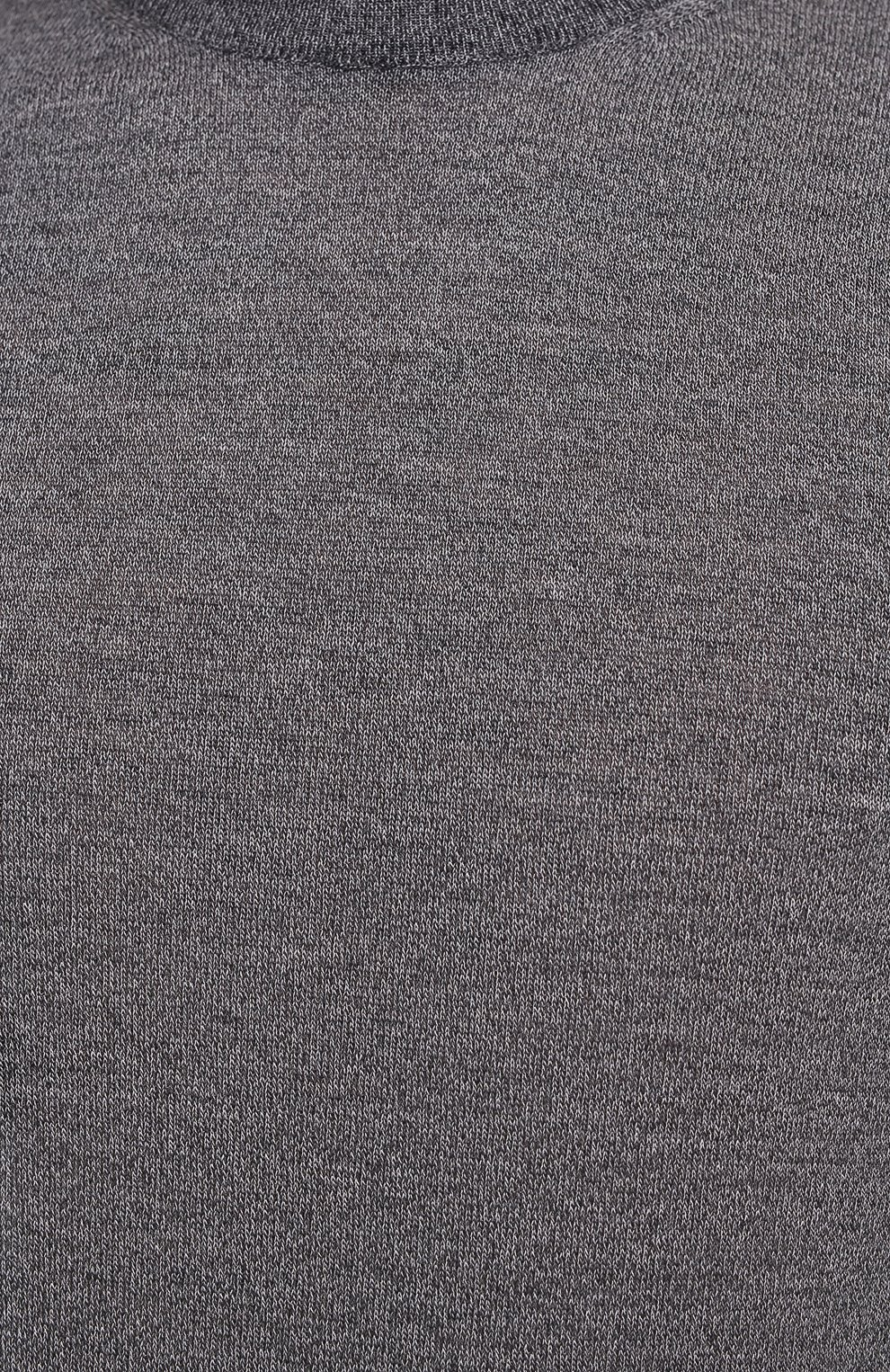 Мужской шерстяной джемпер CANALI темно-серого цвета, арт. C0012/MK00077 | Фото 5