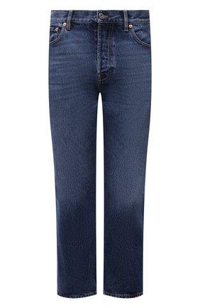 Мужские джинсы VALENTINO синего цвета, арт. WV3DE00Y7L0 | Фото 1
