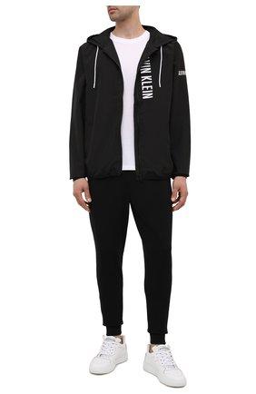 Мужская куртка CALVIN KLEIN черного цвета, арт. KM0KM00597 | Фото 2