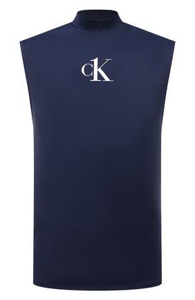 Мужская майка CALVIN KLEIN темно-синего цвета, арт. KM0KM00612 | Фото 1