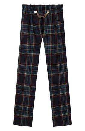 Детские брюки ALETTA разноцветного цвета, арт. A210947-25Q/4A-8A | Фото 1 (Материал внешний: Синтетический материал; Девочки Кросс-КТ: Брюки-одежда; Ростовка одежда: 6 лет | 116 см, 7 лет | 122 см, 8 лет | 128 см)