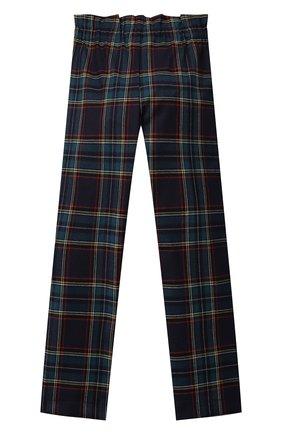 Детские брюки ALETTA разноцветного цвета, арт. A210947-25Q/4A-8A | Фото 2 (Материал внешний: Синтетический материал; Девочки Кросс-КТ: Брюки-одежда; Ростовка одежда: 6 лет | 116 см, 7 лет | 122 см, 8 лет | 128 см)