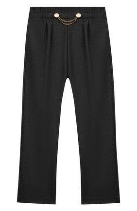 Детские брюки ALETTA темно-серого цвета, арт. A210947-13N/9A-16A | Фото 1