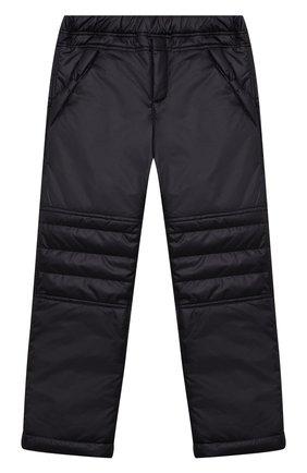 Детские брюки ALETTA черного цвета, арт. A210918I-27/4A-8A | Фото 1