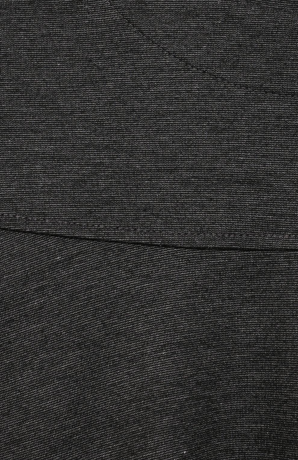 Детское платье из вискозы ALETTA темно-серого цвета, арт. A210566-19/4A-8A   Фото 3 (Рукава: Длинные; Случай: Повседневный; Материал внешний: Вискоза; Девочки Кросс-КТ: Платье-одежда; Ростовка одежда: 6 лет   116 см, 7 лет   122 см, 8 лет   128 см)