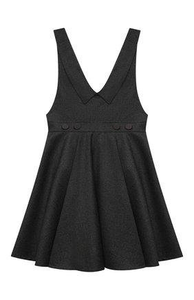 Детское сарафан ALETTA темно-серого цвета, арт. A210911-10N/9A-16A | Фото 1