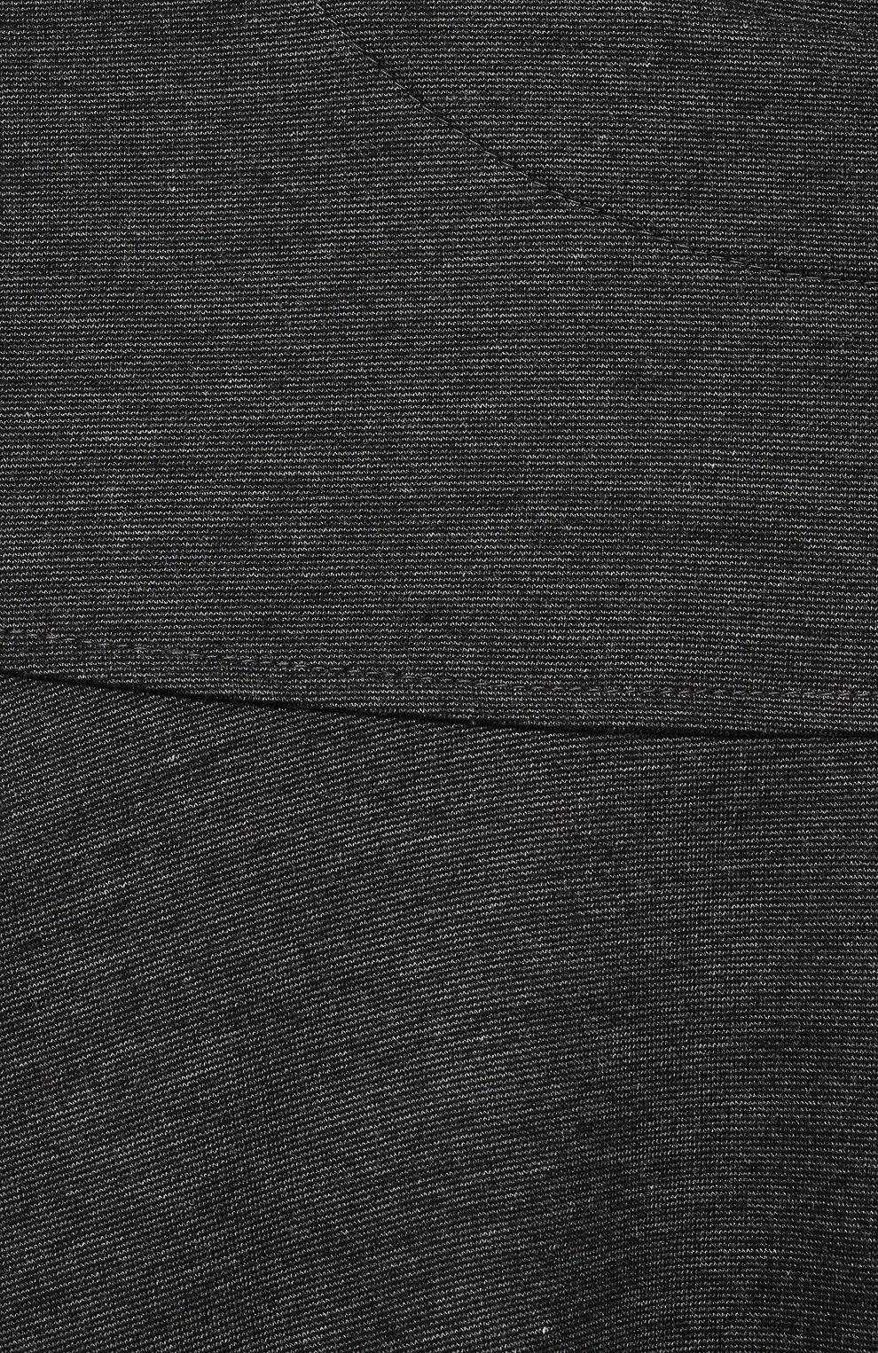 Детское платье из вискозы ALETTA темно-серого цвета, арт. A210566-19/9A-16A | Фото 3 (Рукава: Длинные; Случай: Повседневный; Материал внешний: Вискоза; Девочки Кросс-КТ: Платье-одежда; Ростовка одежда: 10 - 11 лет | 140 - 146см, 12 лет | 152 см, 13 - 15 лет | 158 см, 16 лет | 164 см, 9 лет | 134 см)