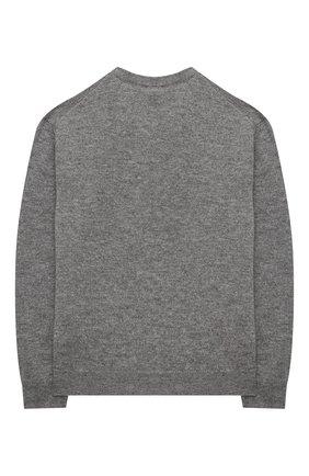 Детский кашемировый пуловер DOLCE & GABBANA серого цвета, арт. L4KW22/JAW00/2-6 | Фото 2