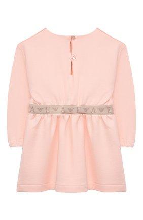 Женский платье EMPORIO ARMANI светло-розового цвета, арт. 6KEA03/3J44Z | Фото 2