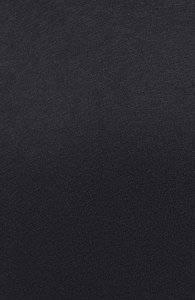 Мужской хлопковый свитшот JAMES PERSE темно-серого цвета, арт. MXA3278   Фото 5 (Рукава: Длинные; Принт: Без принта; Длина (для топов): Удлиненные; Мужское Кросс-КТ: свитшот-одежда; Материал внешний: Хлопок; Стили: Спорт-шик)