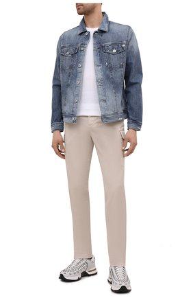 Мужская джинсовая куртка AG синего цвета, арт. 4496LGNMD/17YBDL/MX | Фото 2