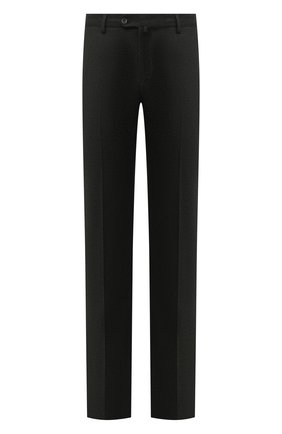 Мужские брюки из шерсти и кашемира LORO PIANA темно-серого цвета, арт. FAI3433   Фото 1