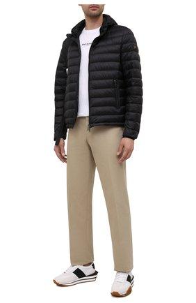 Мужская пуховая куртка PAUL&SHARK черного цвета, арт. C0P2008/GTX | Фото 2