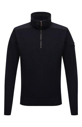 Мужской шерстяной свитер PAUL&SHARK темно-синего цвета, арт. 11311102/FLV | Фото 1