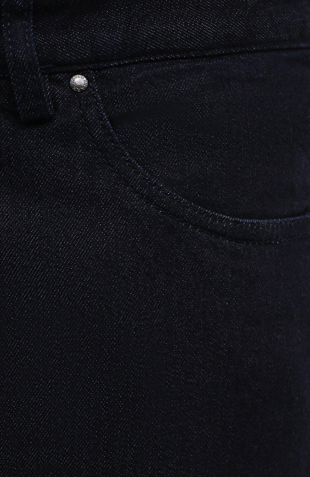 Мужские джинсы PAUL&SHARK синего цвета, арт. C0P4009R/DUI   Фото 5