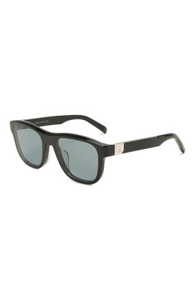 Мужские солнцезащитные очки BERLUTI черного цвета, арт. BL 40016U | Фото 1