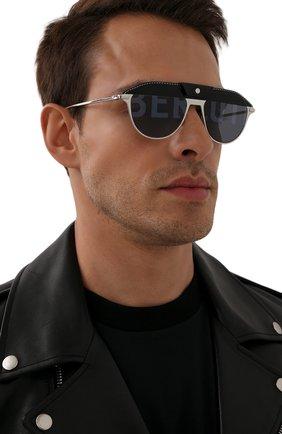 Мужские солнцезащитные очки BERLUTI черного цвета, арт. BL 40026U | Фото 2