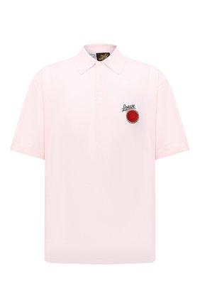Мужское хлопковое поло loewe x paula's ibiza LOEWE светло-розового цвета, арт. H616Y26X02 | Фото 1