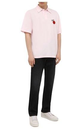 Мужские джинсы LOEWE черного цвета, арт. H526Y04W46 | Фото 2