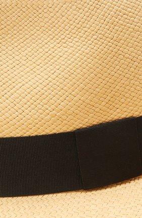 Женская шляпа fedora COCOSHNICK HEADDRESS бежевого цвета, арт. Fedorastraw | Фото 3 (Материал: Растительное волокно)