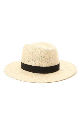 Женская шляпа london COCOSHNICK HEADDRESS кремвого цвета, арт. Londonstraw | Фото 1 (Материал: Растительное волокно)